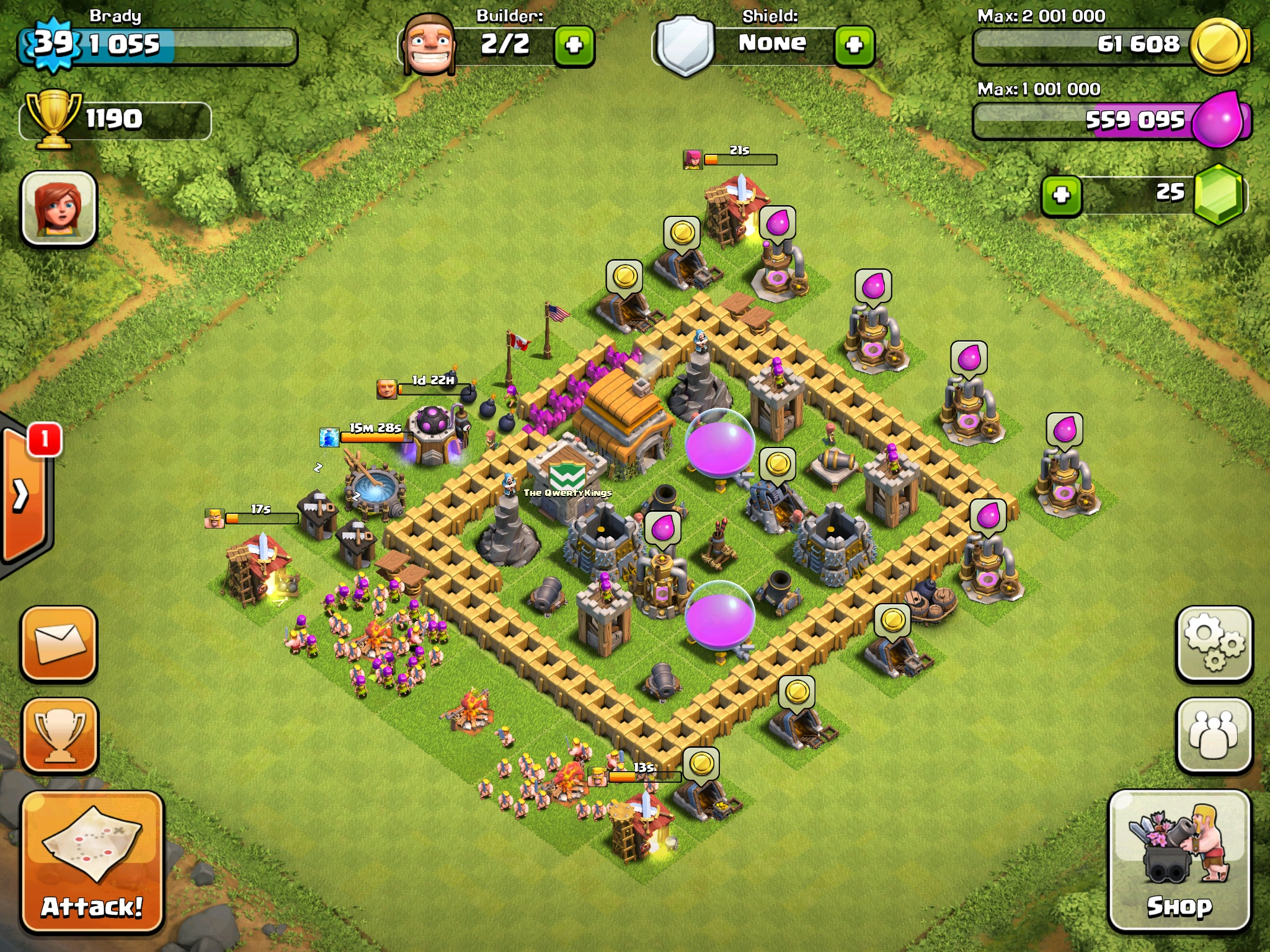 Best defense town hall level 5 car tuning