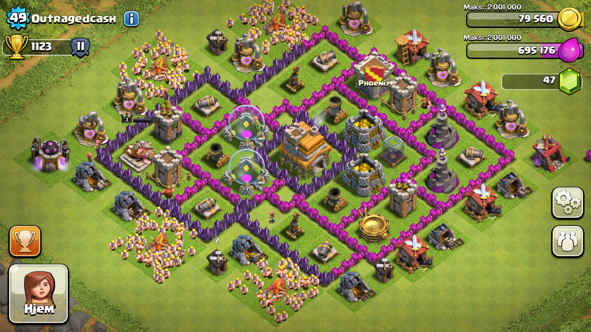Best Layout For Town Hall Level 9